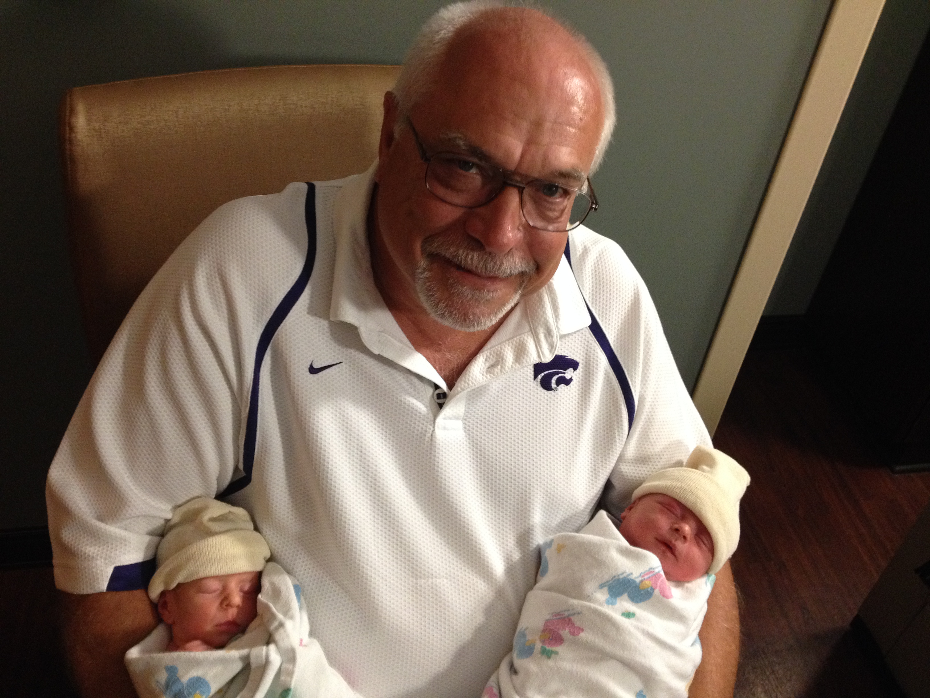 Lola, Ruby, and Grandpa Jerry