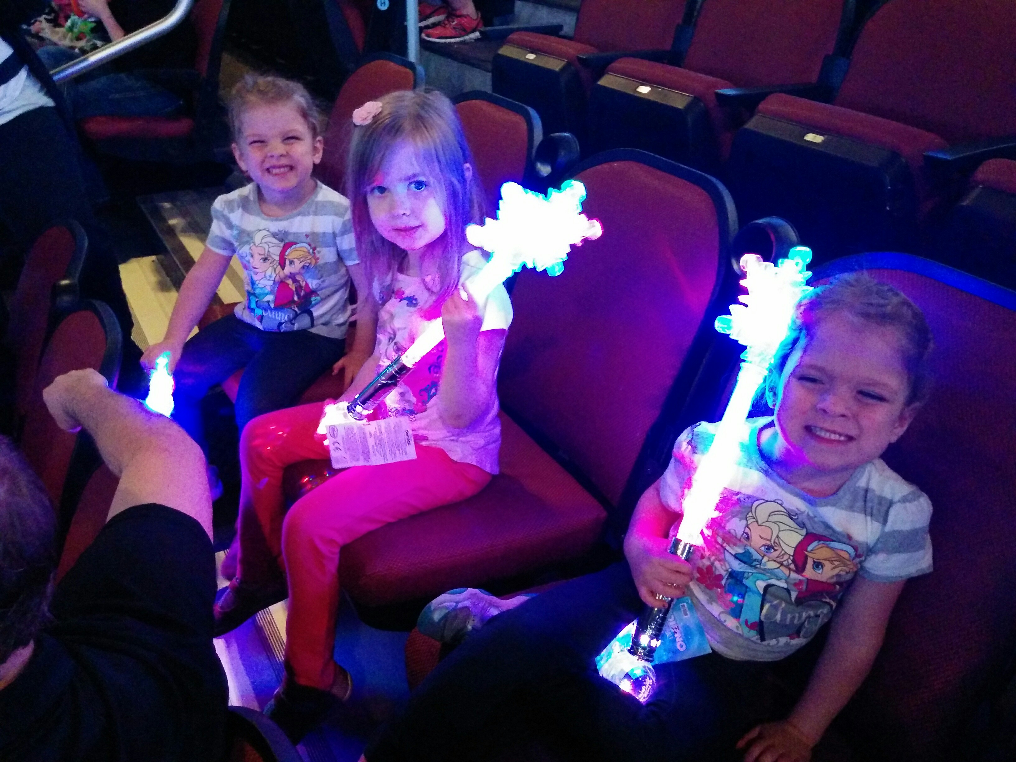 Excited for Princesses and Heroes on Ice!